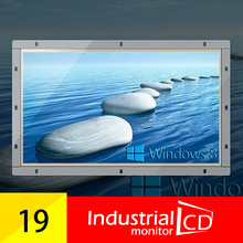 19 Inch Widescreen Open Frame LCD monitor with VGA interface For Industrial Monitor PC
