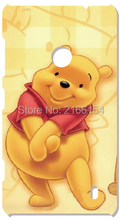 Retail Printed Winnies the Pooh Hard Cover For HTC one X M7 M8 Mini M9 Plus M10 E8 A9 Desire 510 eye M910x Cell Phone Case(China)