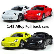 Classic toys! 1 : 43 Pull back high quality metal MINI cars toy, kids best gift, Diecasts car,Free Shipping