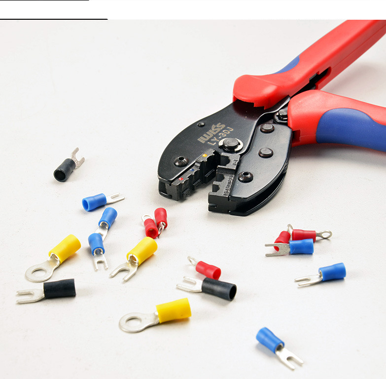 LY-30J Crimping Tools For 22-10 AWG,0.5-6.0mm2 of Insulated Terminals &amp; Connectors<br><br>Aliexpress