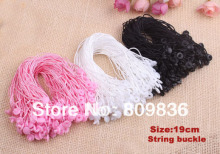 Good quality Sling tag cord for clothing,string buckle hangtag cord,string seal tag cords,garment accessories(ss-26)