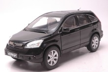 1:18 Scale Diecast Model Car for Honda CR-V 2008 Black SUV Alloy Toy Car Collection CRV CR V(China)
