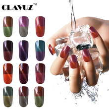 CLAVUZ 8ml Thermal Color Change Cat Eye Gel Polish Nail polish Manicure Gel Varnish Vernis Gel UV Color Nails Gel Professional(China)