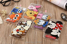 Mickey Mouse Shockproof Soft TPU Case For Iphone 7 Plus I7 7plus 6 6S Cartoon Minnie Donald Duck Pooh Piglet Skin Cover 100PCS