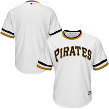 MLB Youth Pittsburgh Pirates Baseball White Cooperstown Collection Jersey(China)
