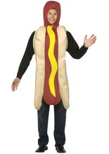 hot dog mascot costumes party birthday gift Halloween party Fancy Dress school team sport Adult Size(China)