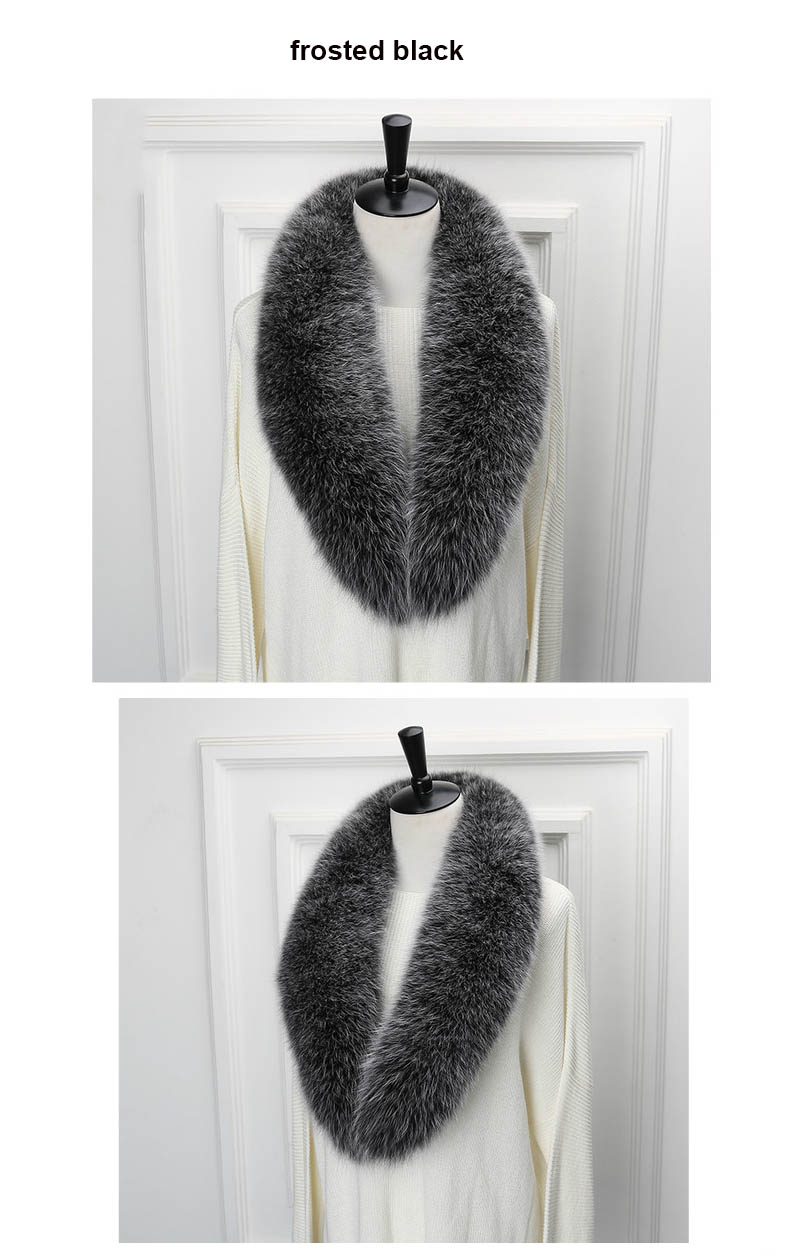 fox collar 110 frosted black
