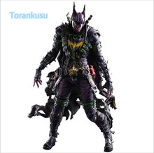 Batman Action Figure Playarts Kai Gogues Gallery Joker PVC Model Toy Anime Movie Play Arts Kai Bat Man Bruce Wayne Figure PA08(China)