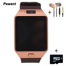 Factory Wholesale Original DZ09 Smart Watch With Camera Bluetooth WristWatch SIM Card For Android Smart Phone Smartwatch DZ 09