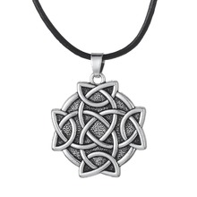 Dawapara New Arrival Irish Knot Round Pendant Rope Antique Necklace&Pendants Special Gifts for Friend