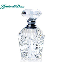 4ML Unique Empty Clear Carved Crystal Travel Women Perfume Bottle Cutting Glass Refillable Bottles Containers Home Decoration