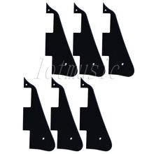 6Pcs Black Guitar Pickguard For Electric Guitar Replacement Body Custom Plastic(China)
