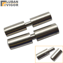 Stainless steel 304, Round Welding door hinge,Male female plug,no rust ,strong and sturdy ,industrial hinge(China)