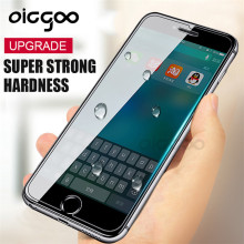 Oicgoo 9H Anti-Explosion Protective Tempered Glass For iphone 7 7 plus 6 6s Screen Protector Film For iphone 6 6s Plus Glass