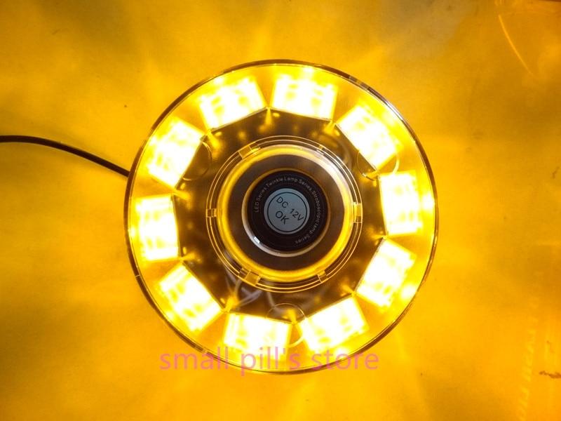 10 LED Car Emergency Beacon Light Bar Strobe Warning Lamp High Power Amber 6 colors 12V<br>