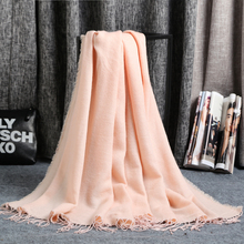 [homewarm]New 2015 Women Winter Mohair Scarf Long Size Warm Fashion Scarves & Wraps For Lady Casual Patchwork Accessories