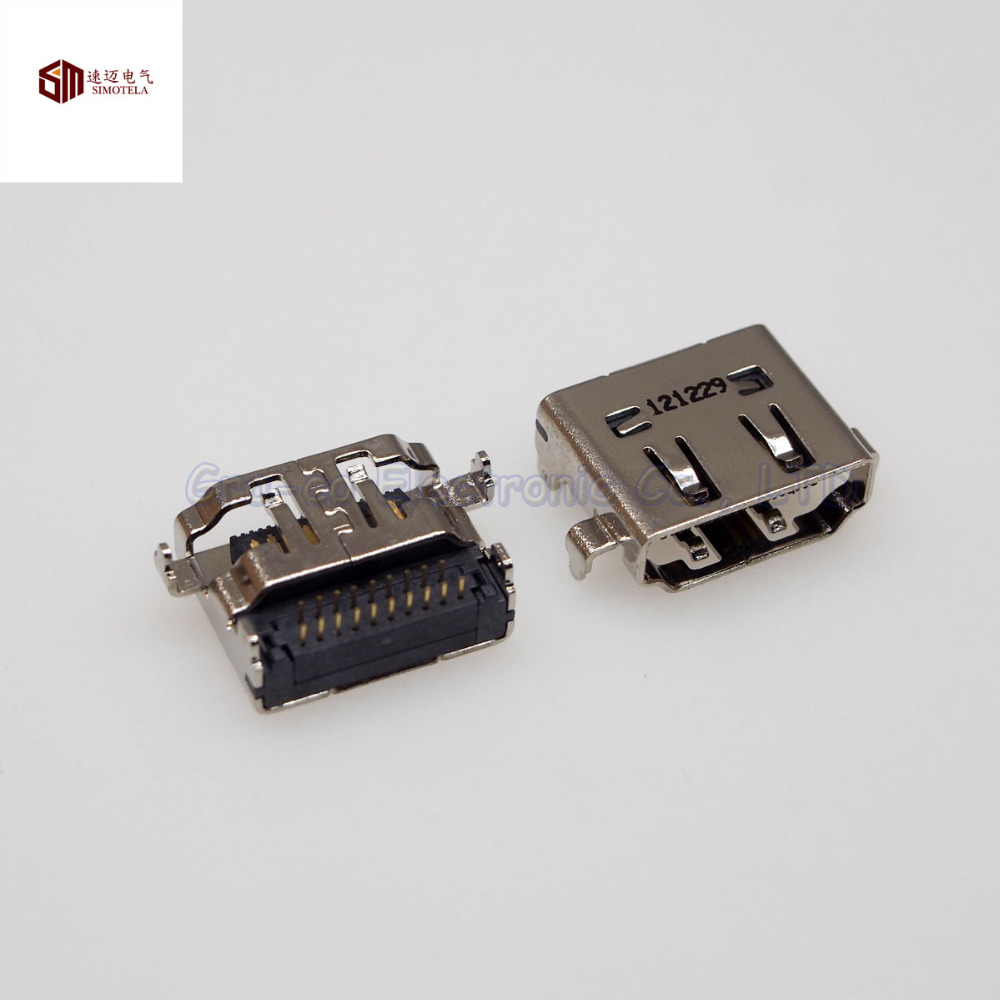 5pcs 19Pin HDMI Female Socket For Samsung HP ASUS etc Notebook Motherboard Built-in Interface(China (Mainland))