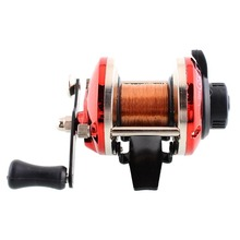 9*7cm Right Handed Round Big Game Saltwater Fishing Trolling Reels With Line Trolling Carp Fishing