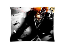 Anime Bleach Custom Zippered Rectangle Pillowcases Pillow Cover Cases Size 40x60cm (Two sides)U2-202