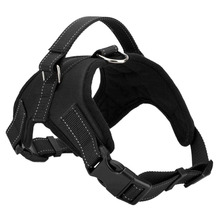 Practical Service Dog Harness Vest Service Dog Harness Vest Cool Comfort Oxford cloth for dogs Black