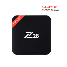 Buy 10pcs 1GB/8GB 2GB/16GB Z28 Android 7.1 TV Box Rockchip RK3328 Quad Core 2.4G WiFi 4Kx2K USB 3.0 Media player Set-top box for $299.00 in AliExpress store