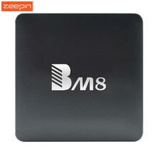 BM8 Android TV Box Amlogic S905X Quad Core 4K H.265 Decoding Android 6.0 2.4G+5G Dual Band WiFi 2GB RAM 32GB ROM PK X92 H96 PRO