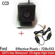 Wireless Car Rearview camera Parking Camera Color Night Version 170 Reverse HD CCD Camera for 2012 Ford Focus Hatchback / Sedan