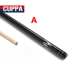 Cuppa New Arrival Pool Cues Stick 13mm/11.5mm/10.5mm Tip Black Red Colors China(China)