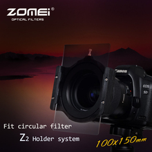"ZOMEI 2 in 1 Holder+( )Ring Filter Bracket and Ring For Cokin Z Lee Hitech Tiffen Singh-Ray 4X4"" 4X5.65 Filter"