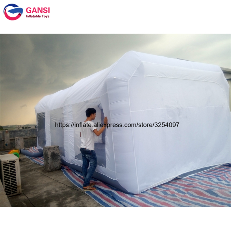 inflatable paint spray booth21