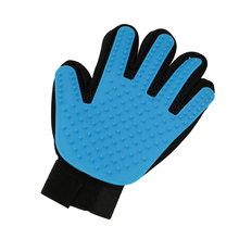 Massage Glove Touch Gentle Pet Grooming Dogs Cats Mascotas Cachorro Hair Removal Grooming Brush Comb Glove Bathing Groomer Tools