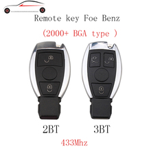 GORBIN 2 3 Buttons 433Mhz Car Smart Remote Key Mercedes Benz Supports NEC BGA Type Car Remote Controller Year 2000 -
