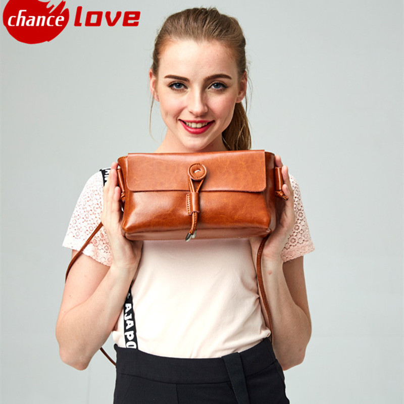 New Fashion Womens Cute Wallets Crossbody Retro Small Bags Solid cowhide Leather Bag Messenger bags<br><br>Aliexpress