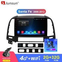 Junsun Штатное Головное устройство For Санта Фе 2 GPS Android 8.1 aвтомагнитола магнитола 2 din автомагнитолы Андроид для Hyundai Santa Fe II штатная магнитола дл...