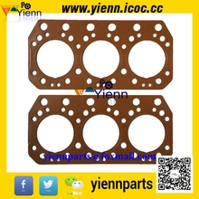 For Mitsubishi 6DB1 6DB10 Cylinder Head gasket 30001-05103 install Truck T416 486 diesel engine repair parts