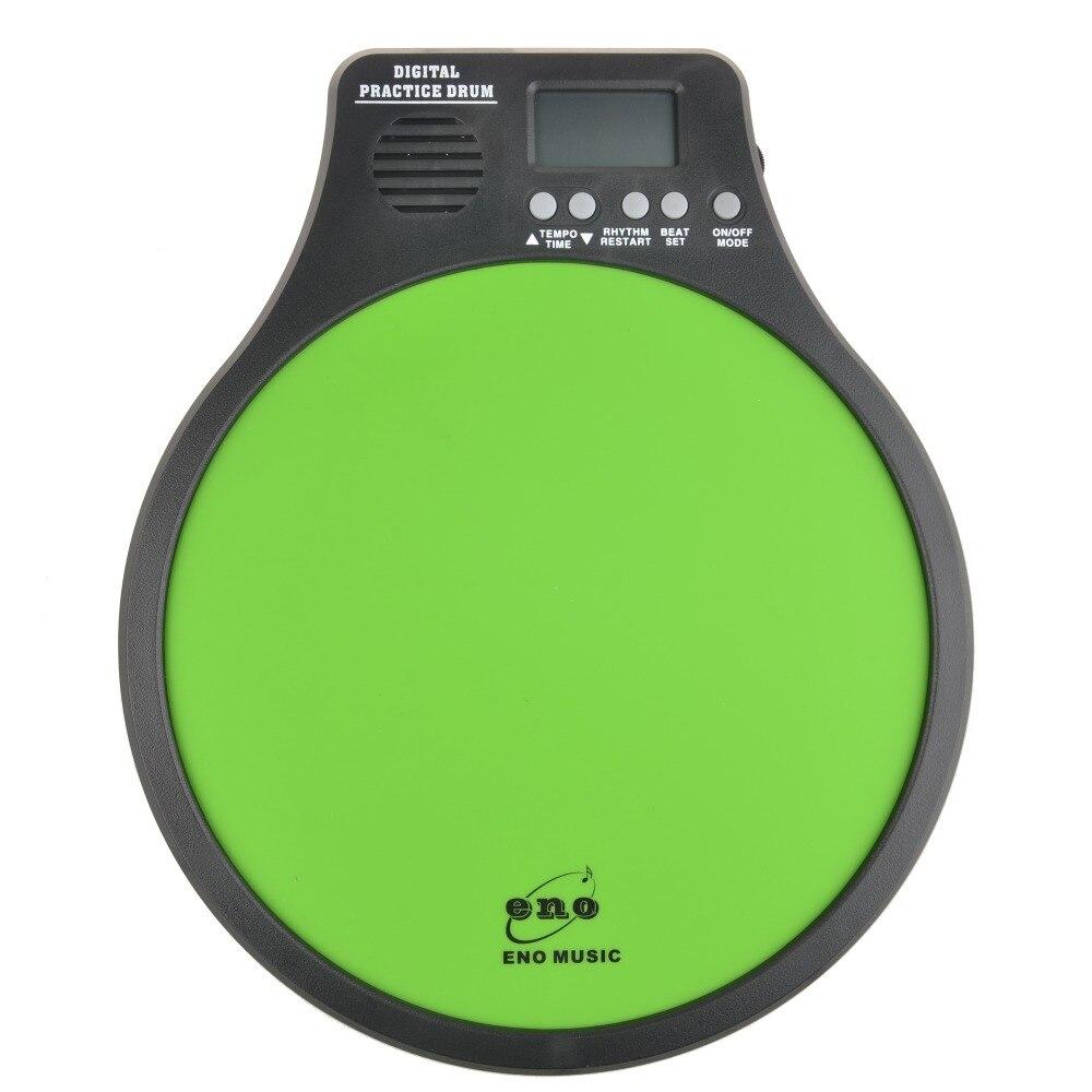 ENO EMD-40 Digital Drumming Practice Drum Pad With Metronome 3 in 1 Patented Practice Drum pad<br>