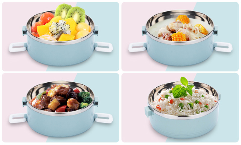 4 Layer Portable Stainless Steel Lunch Bento Boxs Japanese Style Fruit Food Storage Container For Kid School Camping Travel Sets12