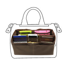 large inner bag organizers fit Boston purse Practical inside package good quality Nylon material  free