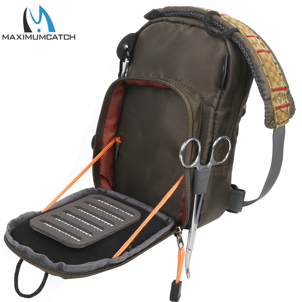 Maximumcatch Fly Fishing Bag Fishing Chest Pack Fly Bag With Five Fishing Tool Accessories<br><br>Aliexpress