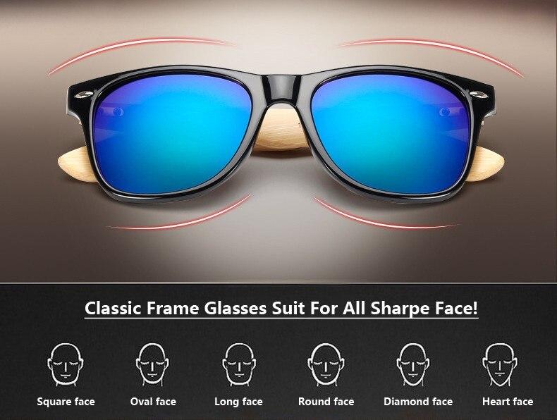 Ralferty Retro Wood Sunglasses Men Bamboo Sunglass Women Brand Design Sport Goggles Gold Mirror Sun Glasses Shades lunette oculo 3