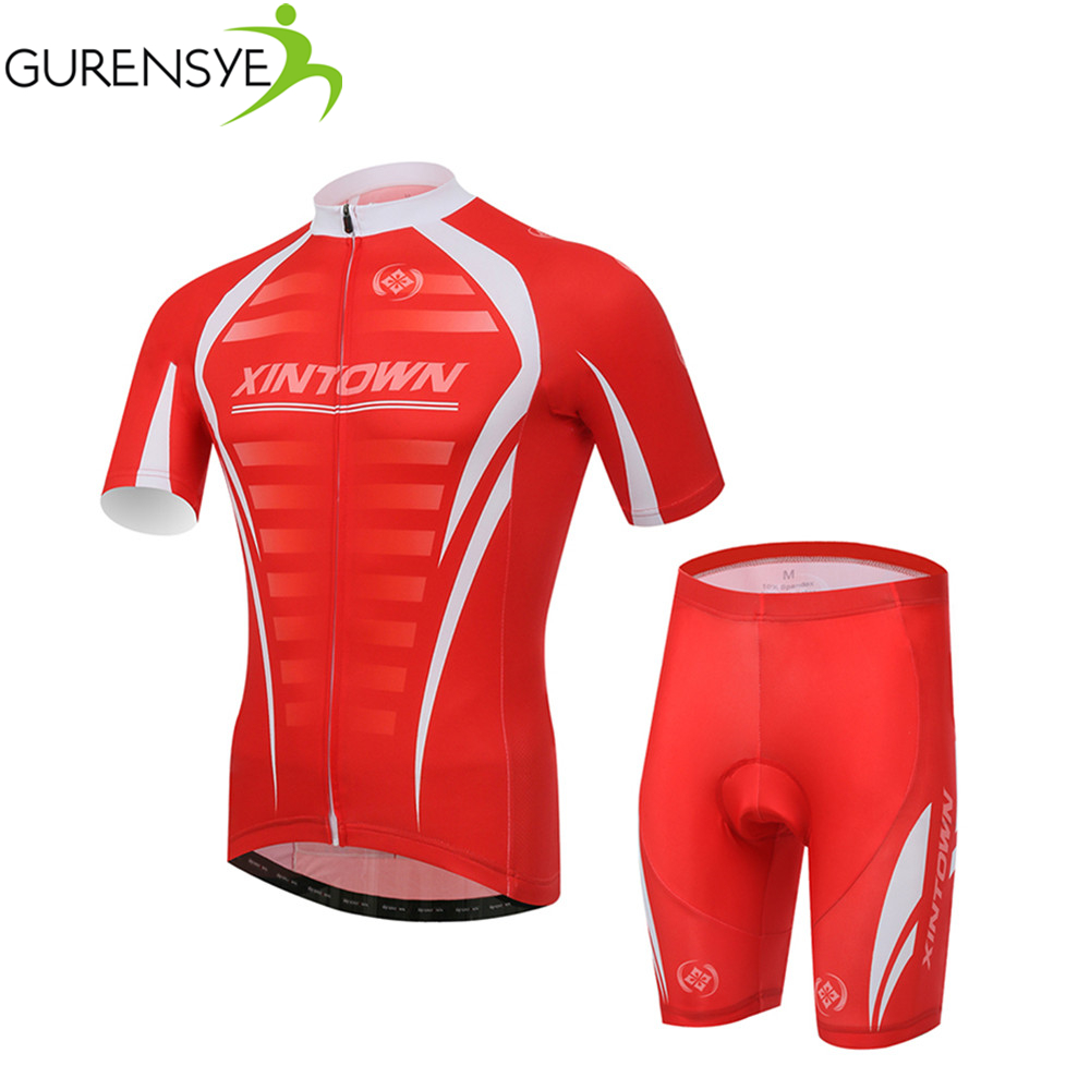 2017 Red Summer Xintown Breathable Roupa maillot Cycling Jersey Cycling Clothing/Mountain Bicycle GEL Pad Racing Bike Breathable<br><br>Aliexpress