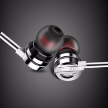 Brand Earphone PTM D05 Zinc Alloy HiFi Headhone BASS Earbuds Metal Headset for Earpods Airpods(China)