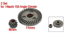 Best Promotion Wholesale Price Replacement Spiral Bevel Gear 2 Set for Hitachi 100 Angle Grinder