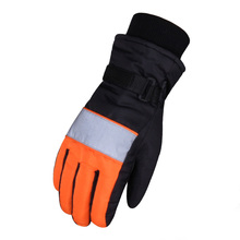 2016 High Quality Men Women Skiing Gloves Waterproof Motorcycle Winter Snowmobile Snowboard Ski Gloves Warm Ride Thick Gloves(China)