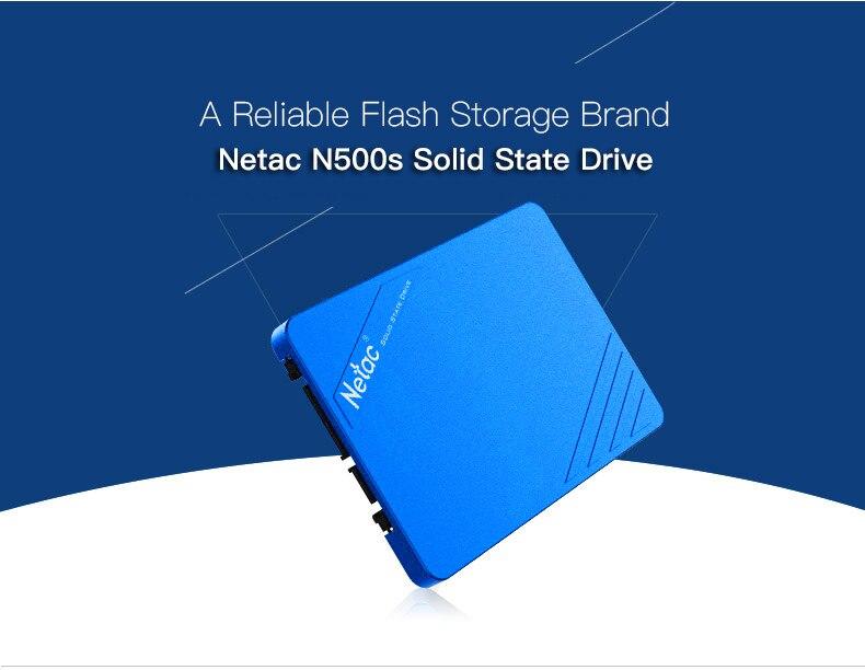 Netac N500s state drive