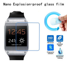 Hight Quality Nano Explosion-proof Soft glass Protective Film for Samsung Galaxy Gear V700 Screen Protector(China)