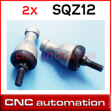 2pcs SQZ12 M12 12mm bearing ball joint rod end right hand tie rod end bearing SQZ12RS