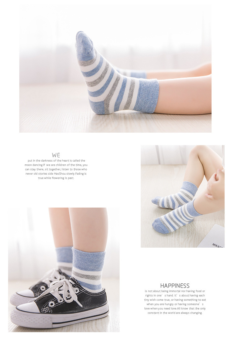 children girl socks new kids cute autumn winter baby cotton socks 4