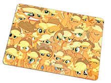 my little pony mouse pad yellow gaming mousepad Birthday present gamer mouse mat pad game computer padmouse keyboard play mats(China)