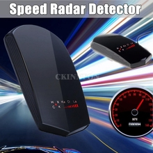 DHL 50PCS Stunning 360 Full Band GPS Speed Safety Car Radar Camera Detector Voice Alert LED (Color: Black)(China)